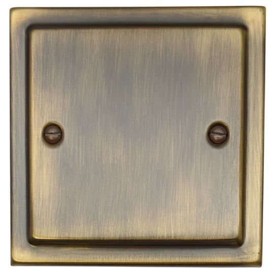 Trimline Plate Antique Bronze